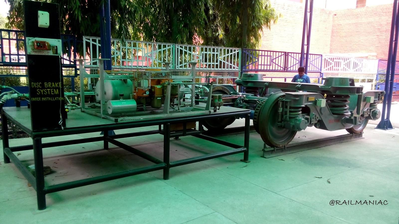 Rail Maniac Electro Pneumatic Brakes Ir Car Brake System Diagram Passenger A Model Of E R At Rcf