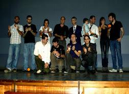 Ganadores y homenajeados I Certamen 2008