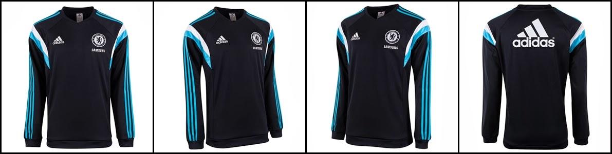 Detail Lengkap Gambar Sweater Chelsea New Official Adidas 2015