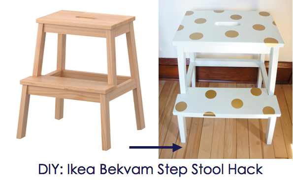 ikea step stool ikea hack ikea bekvam step