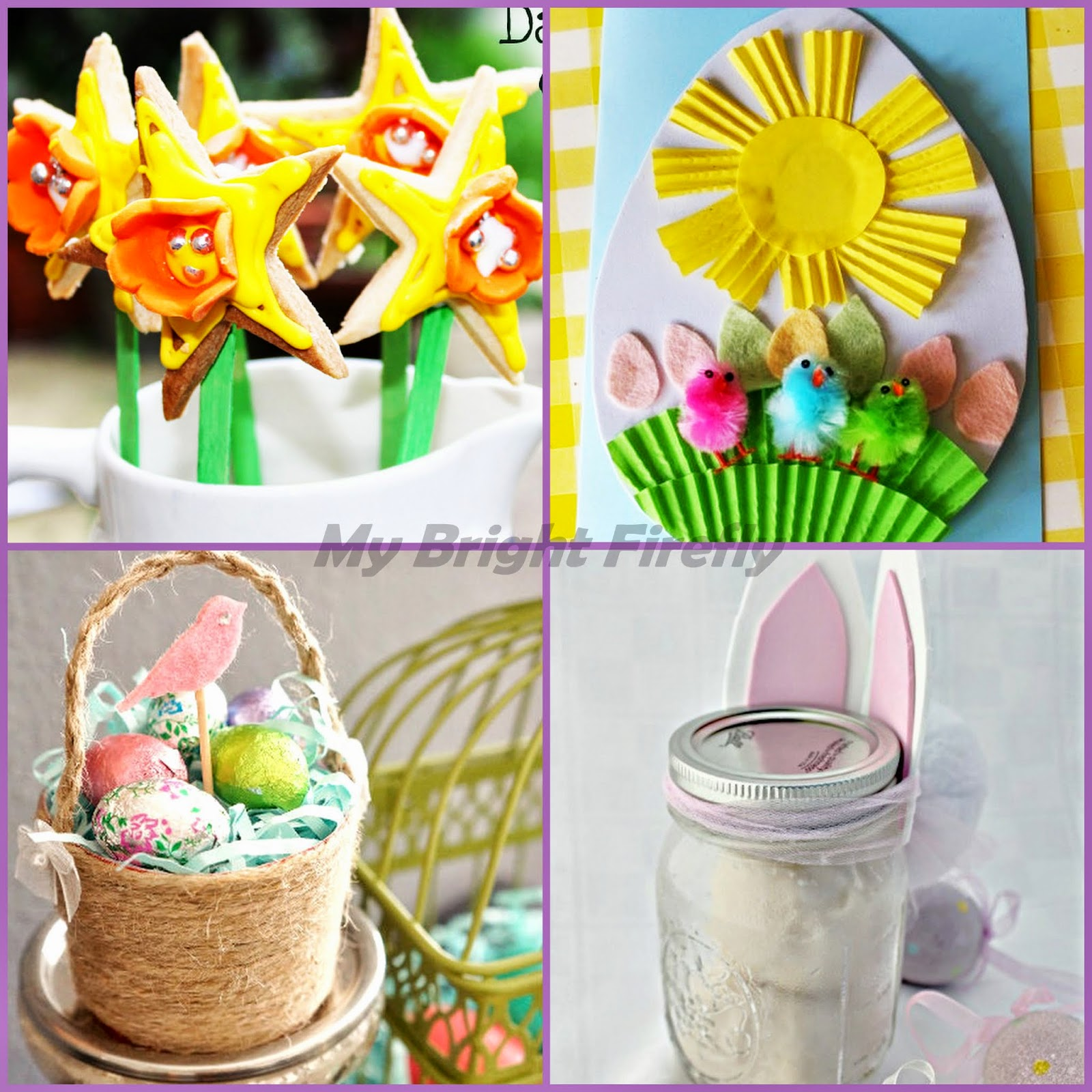 My bright firefly 30 beautiful easter baskets playful baskets arts and crafts for easter negle Choice Image