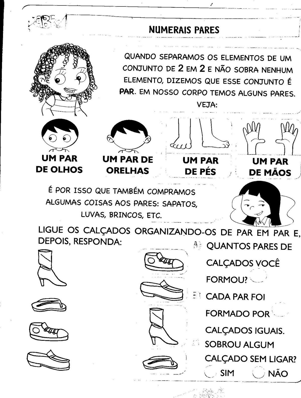 O Quarto Homem Raquel Santos Letra ~ ADOLET? DO ABC N?meros pares e ?mpares