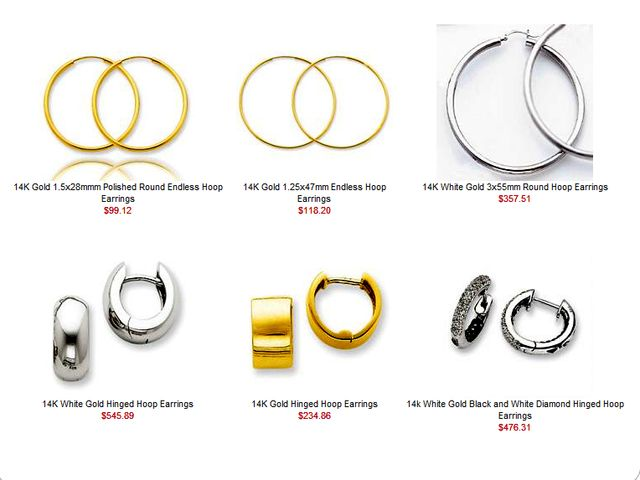 Hoop Earrings - Perfect Gift for Her