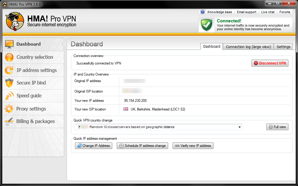 Hma Vpn Software