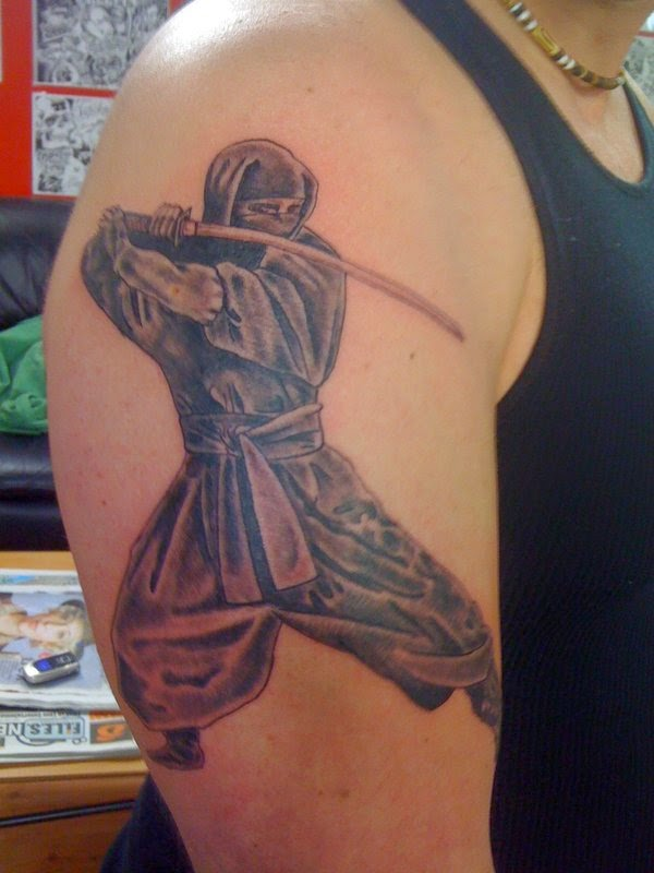 Classical Ninja Tattoo