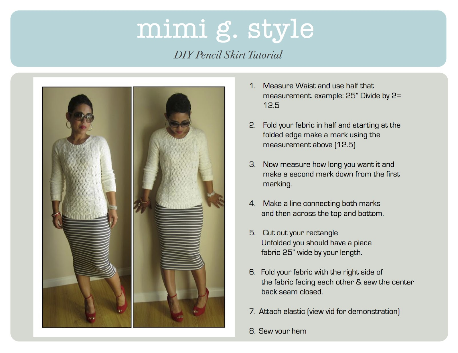 Watch How to Sew a Pencil Skirt video