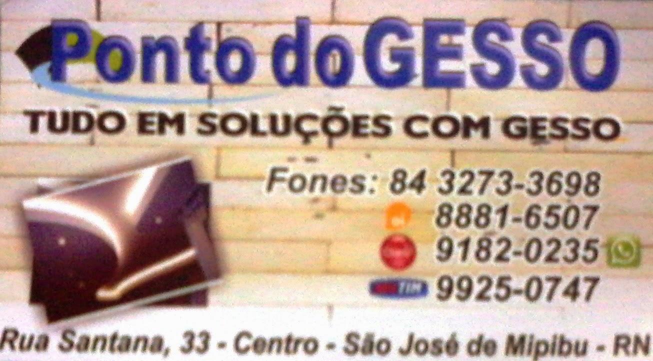 PONTO DO GESSO - TUDO EM SOLUÇÕES COM GESSO -
