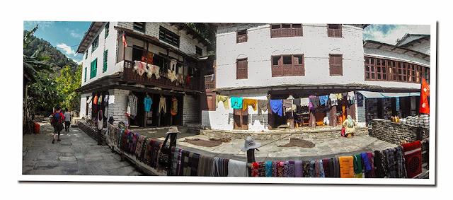 Trekking Nepal, Bhiretani