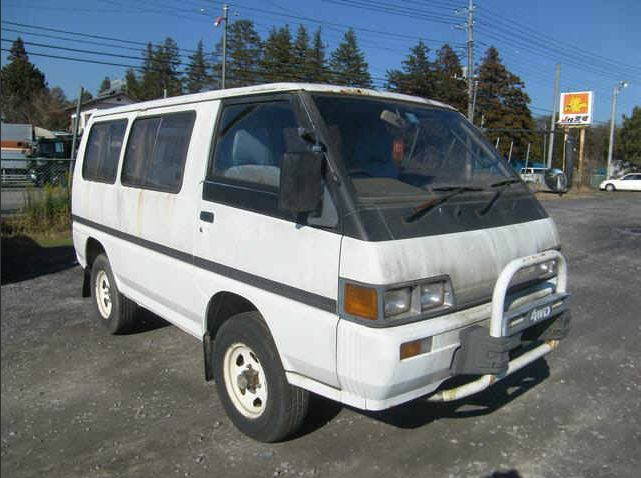 Import A Vehicle : 25 Year Old Car Importation: 1988 Mitsubishi Delica 4WD