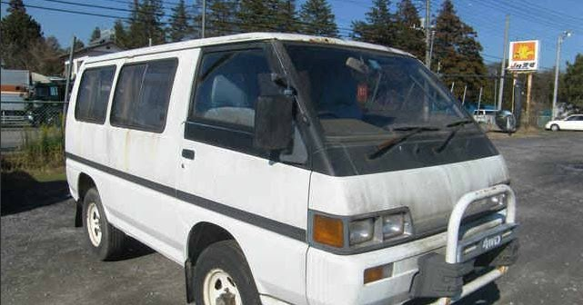 Import A Vehicle : 25 Year Old Car Importation: 1988 Mitsubishi Delica ...