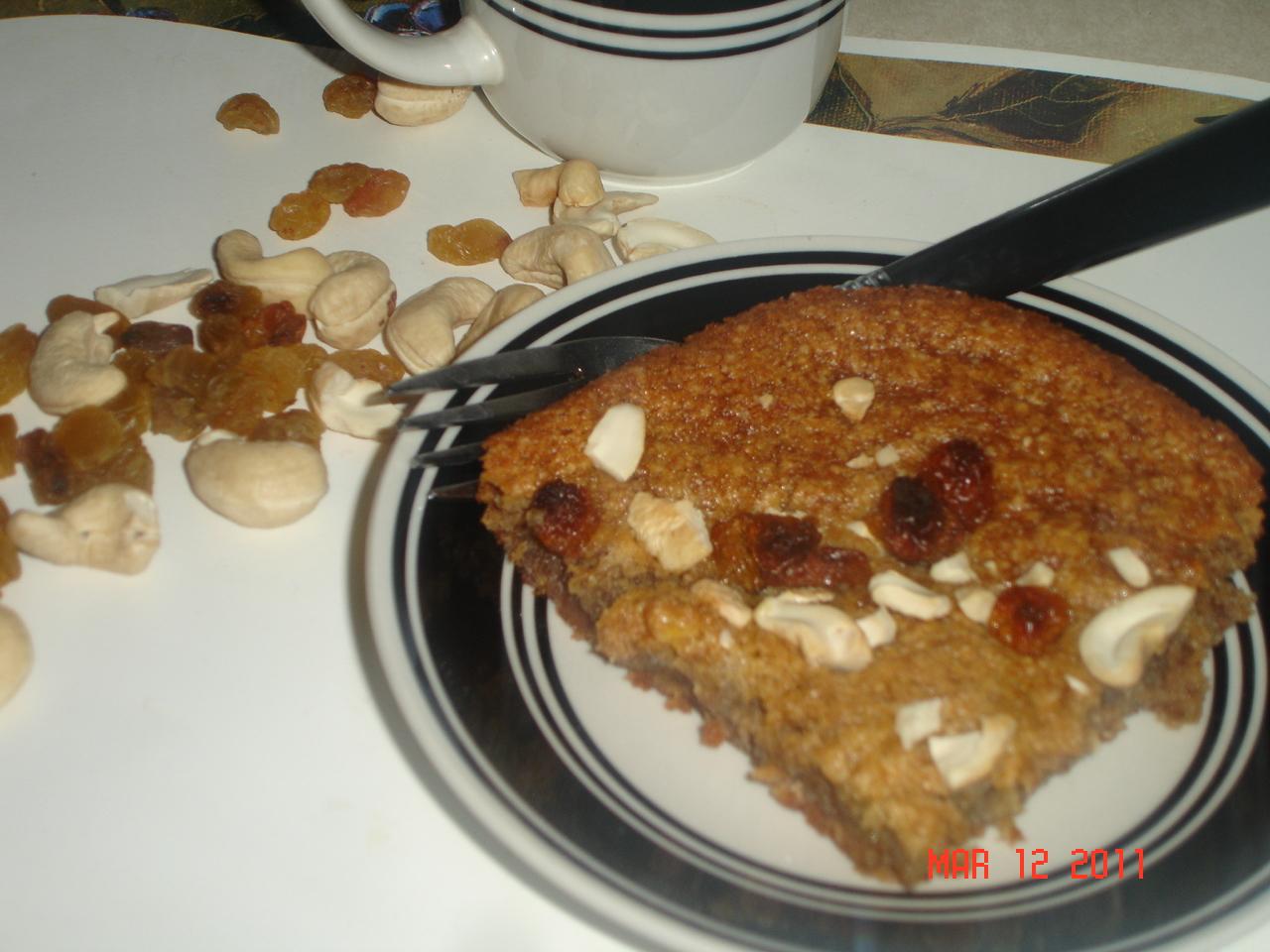 how to make banana nut cake recipe
