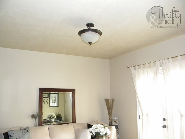 DIY Ceiling Medallion