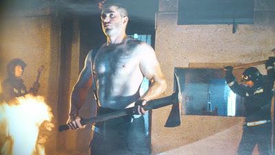 Una de las imágenes de Andres Baquero tomadas a los bomberos