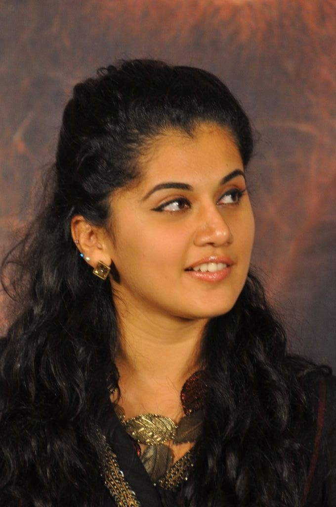 Tapsi New Hd Photo's At Sahasam Success Meet   ABCMP3SONGS