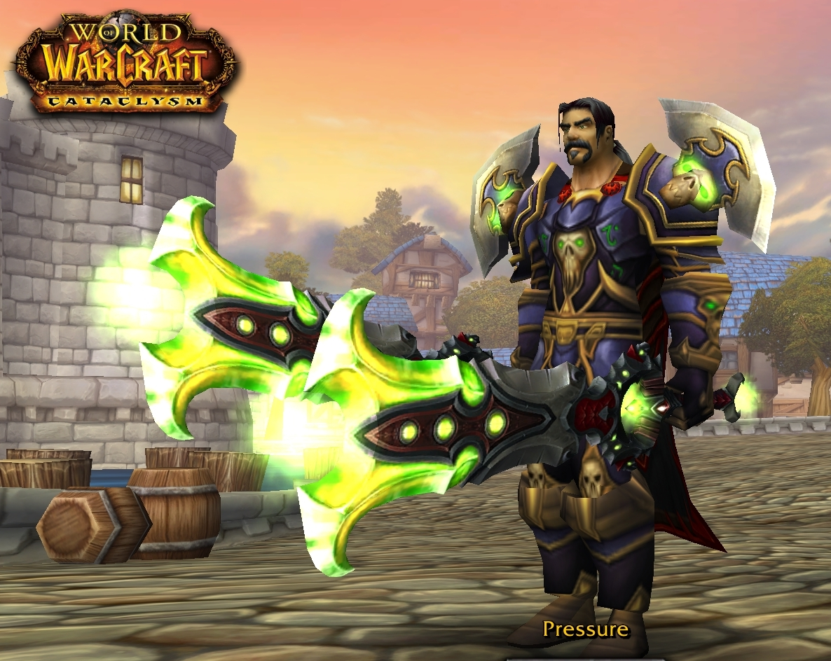 WoW human pally dual wield adult gorgeous bitches