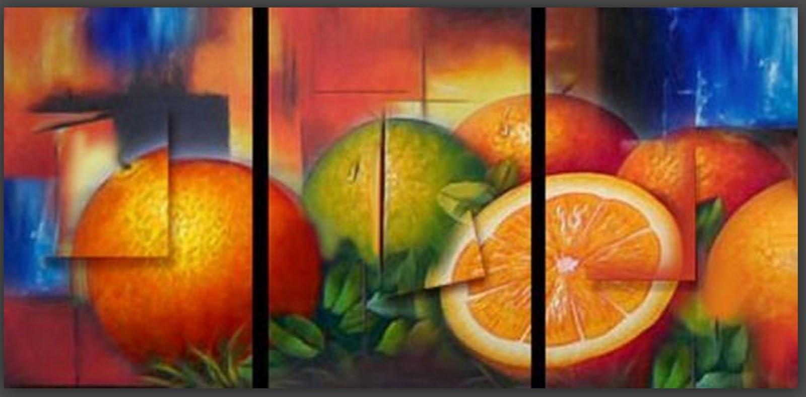 Pintura moderna y fotograf a art stica cuadros tr pticos for Cuadros al oleo modernos para comedor