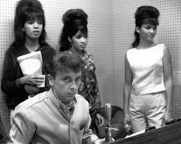 The Ronnettes with Phil Spector image