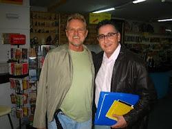Com o poeta Alcides Buss