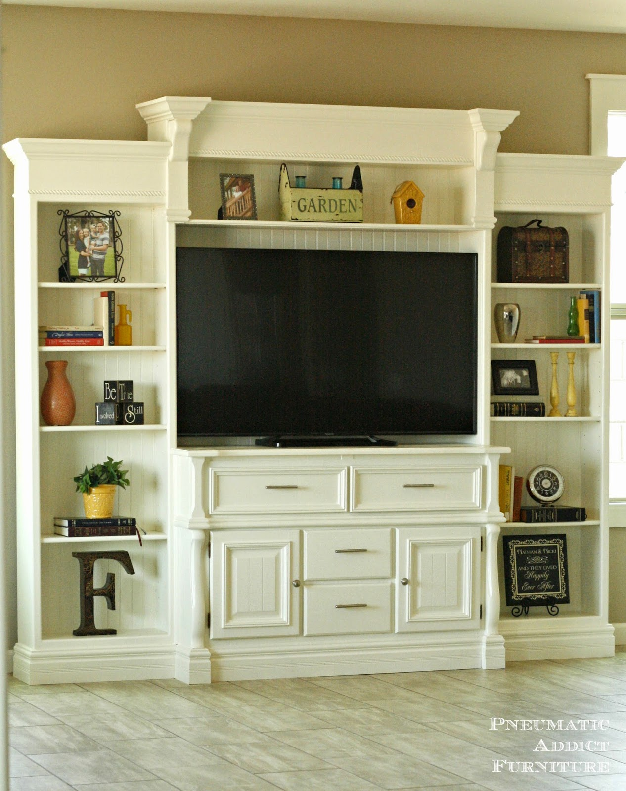 Pneumatic Addict Diy Entertainment Center