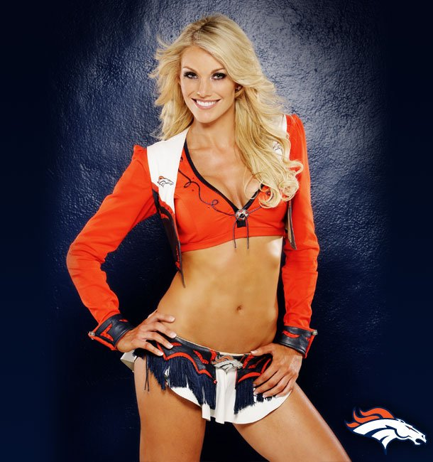 Broncos cheerleaders naked denver