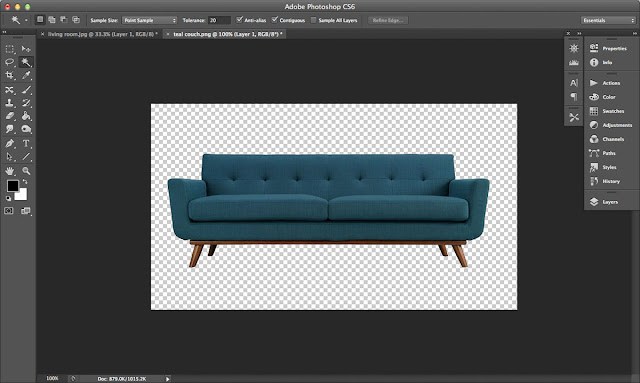 How To Use Photoshop To Decorate Your Home: Photoshop your way to better design choices