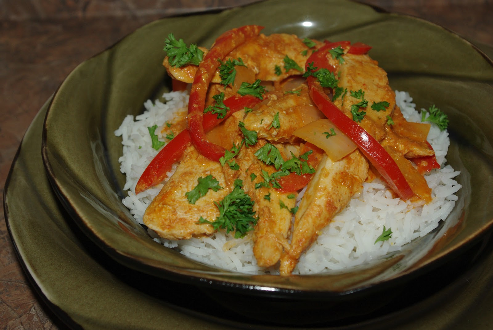 mennonite girls can cook thai curry chicken in coconut milk