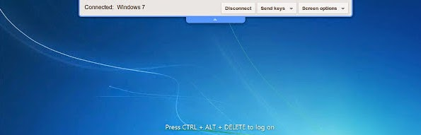 Chrome Remote Desktop for screen sharing