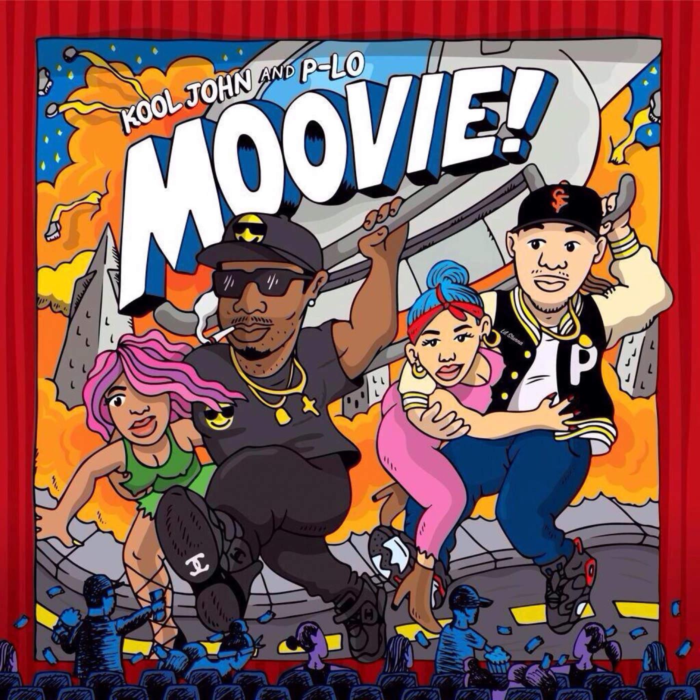 Kool John & P-LO - Moovie! Cover