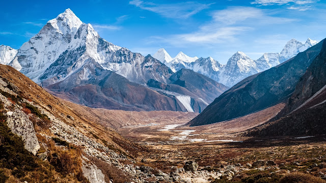 ama dablam himalaya mountains wallpapers hd