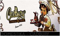 DOMESTIKA · CADBURY