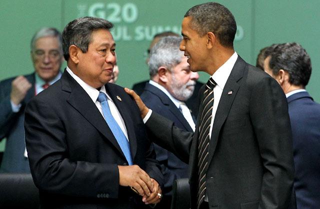 Intelijen AS dan Inggris Sadap SBY, Australia Ambil Untung