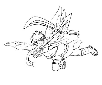 #28 Pit Coloring Page