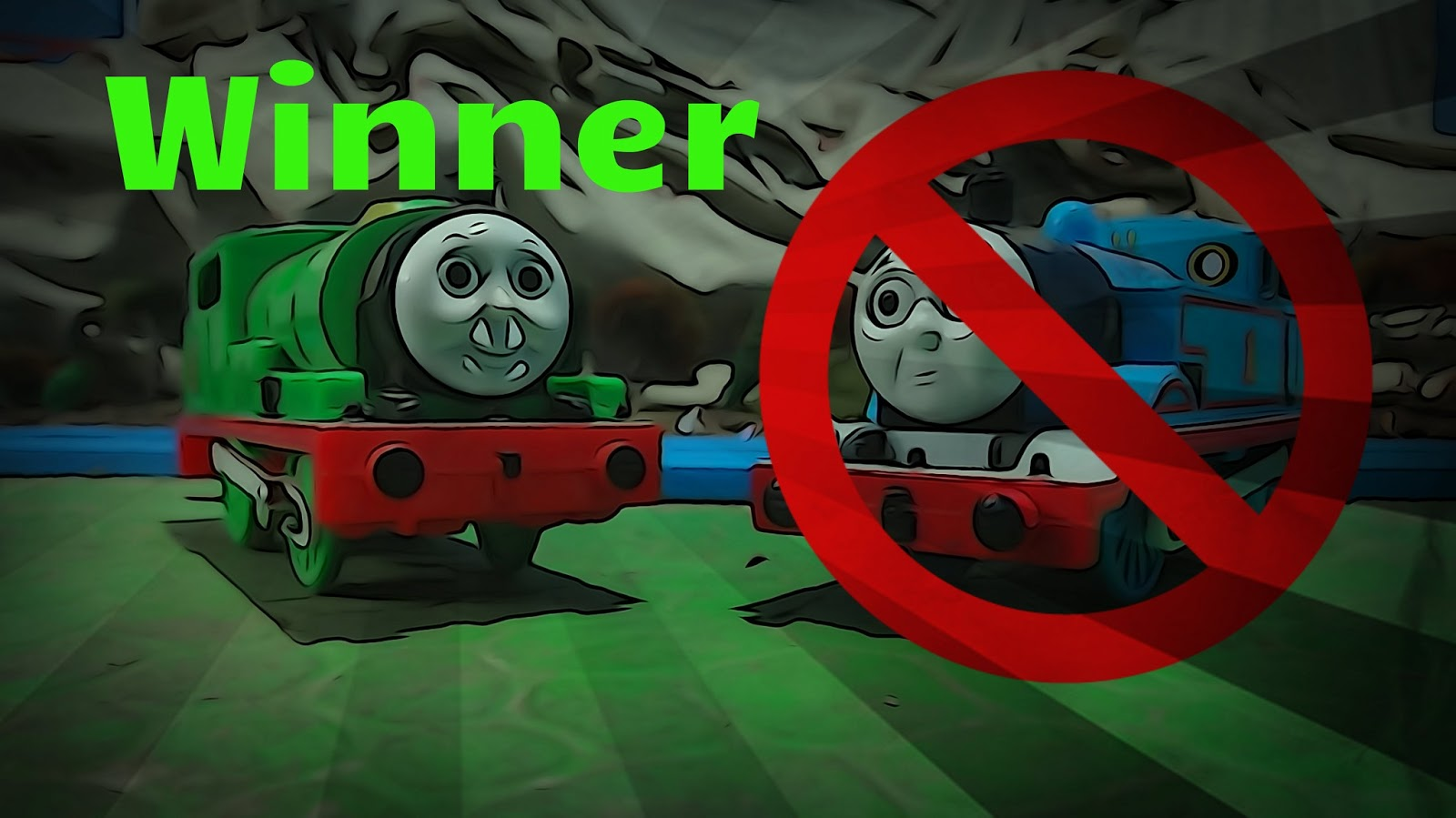 thomas vs trains