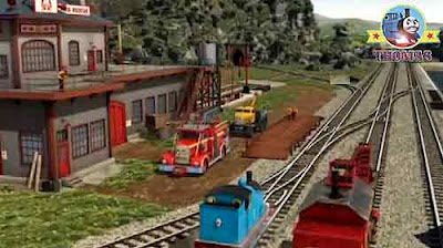 Butch Flynn arrived at the Sodor search and rescue center Thomas the tank engine and Rocky the crane