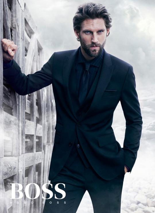 Latest Hugo Boss Men's Black Collection 2012-13