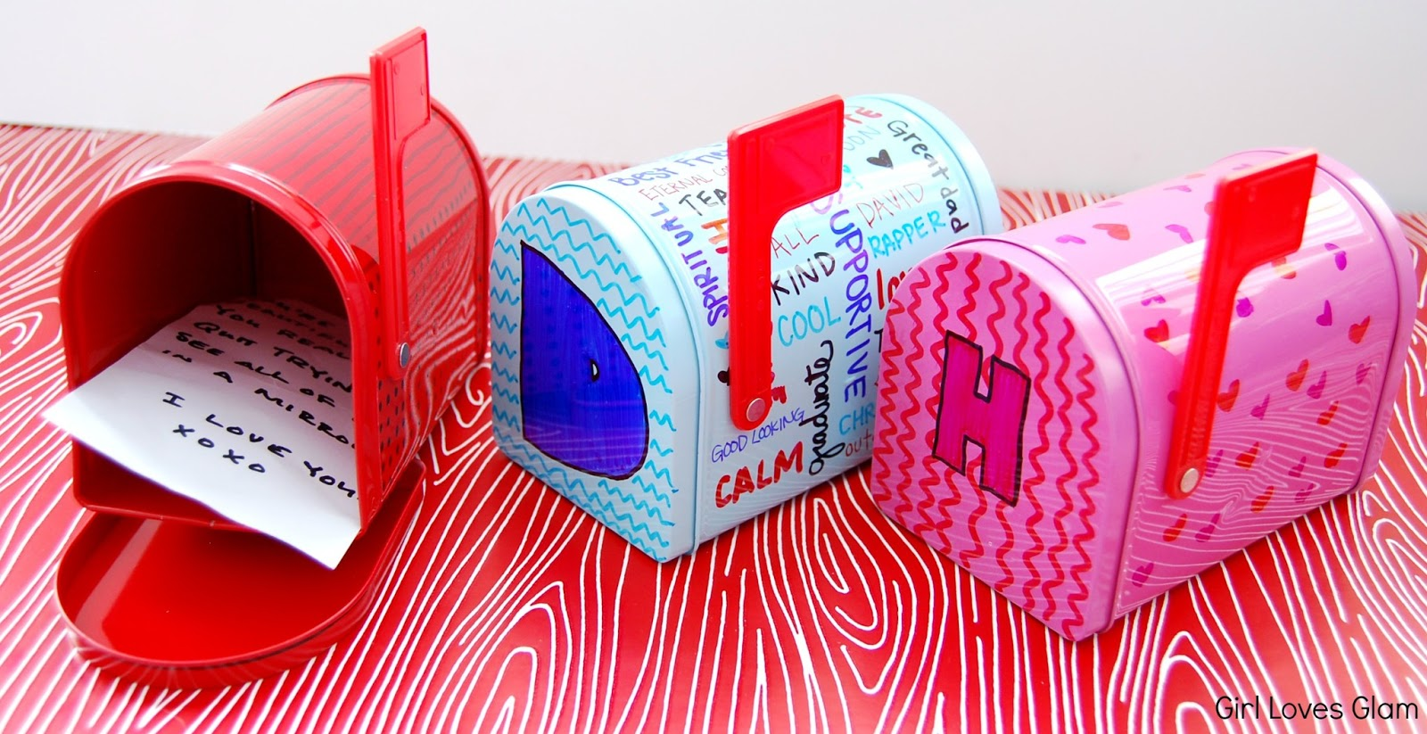 decorated valentineu0027s day mailboxes : valentine mail boxes - Aboutintivar.Com