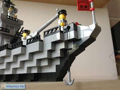 Enlighten Brick Toy Navy Ship 5