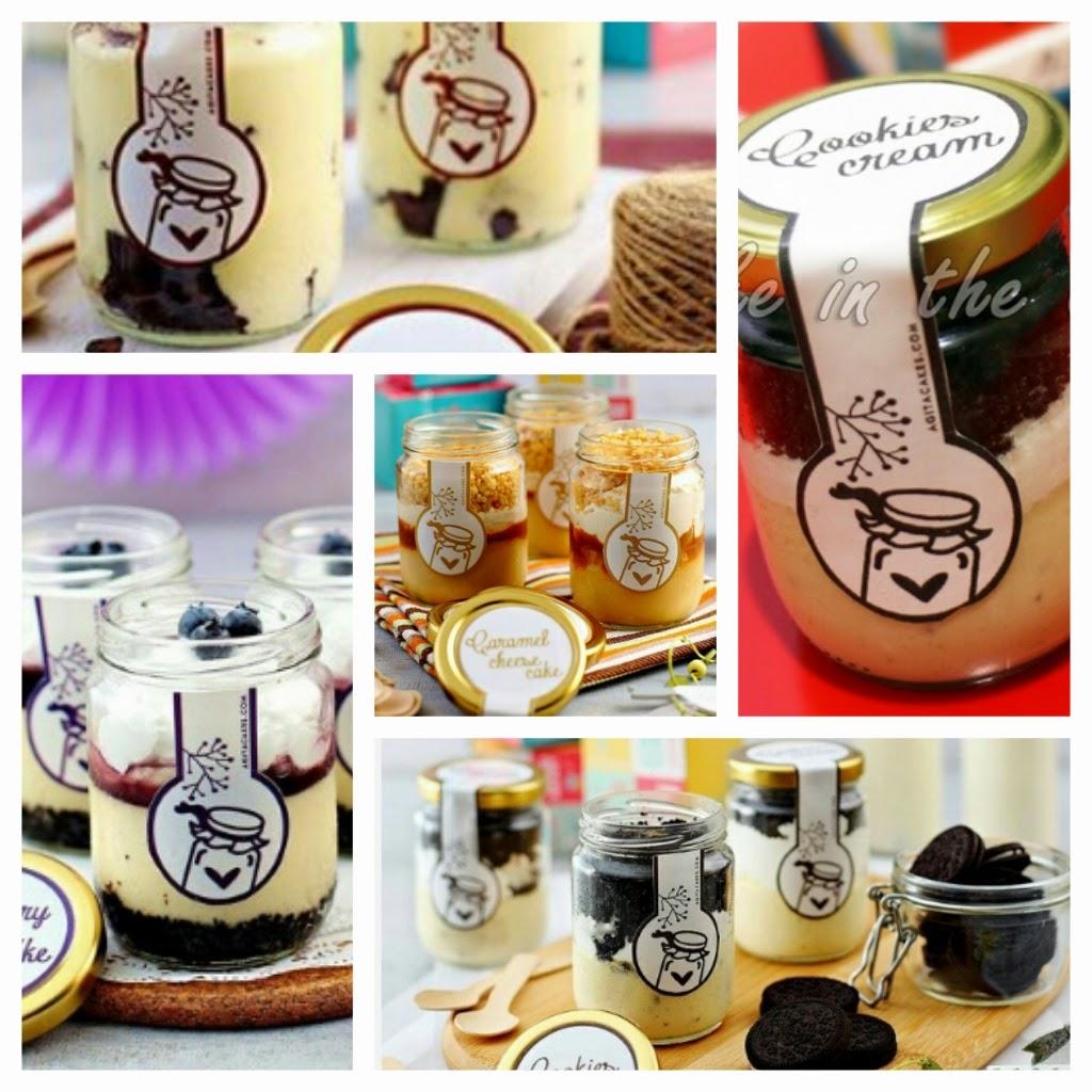 Harga Jar cake Produksi Agita Paramita,  Lengkap 8 Rasa
