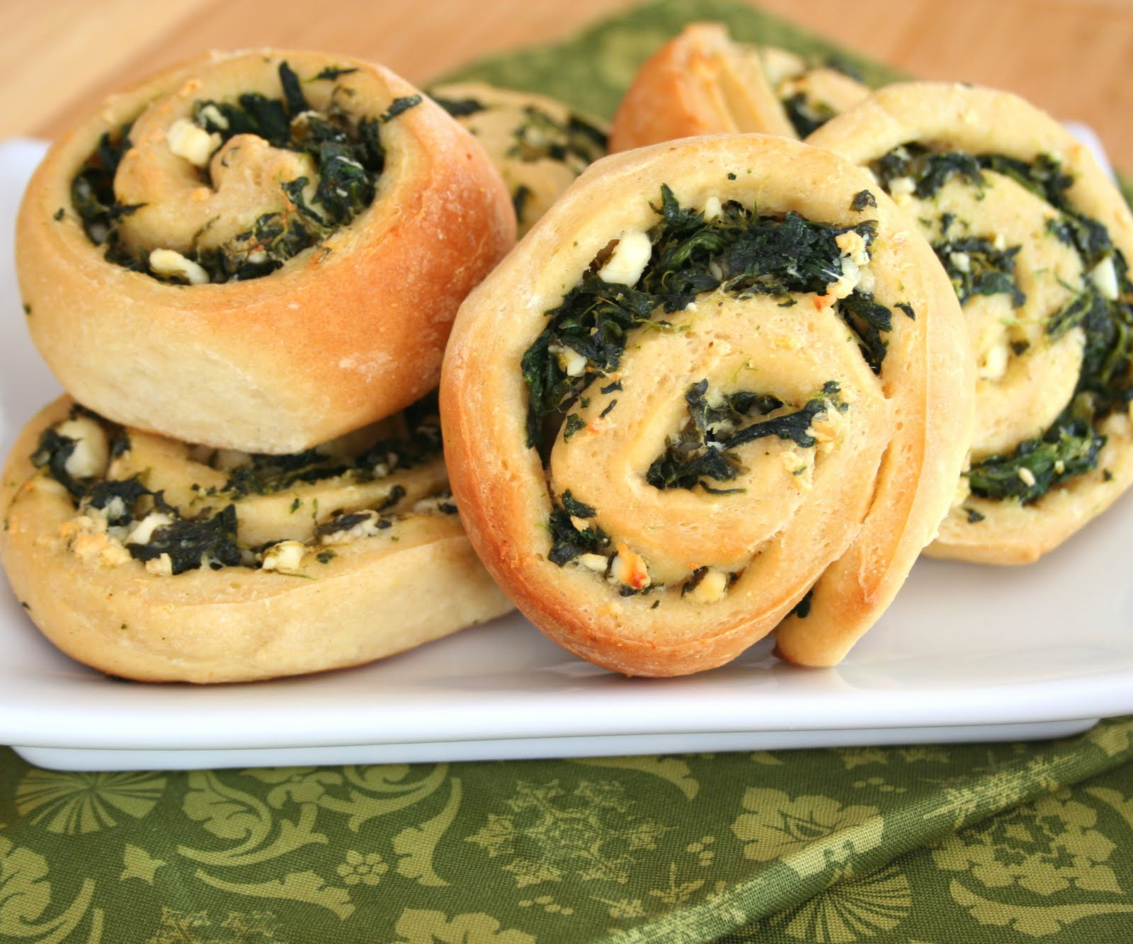 Image result for Baked Spinach Roll Recipe