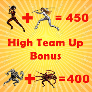 High Team-Up Bonuses