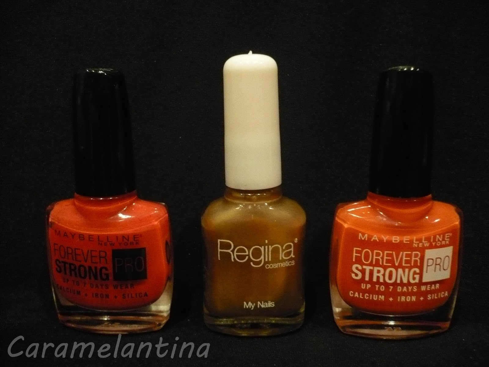 Maybelline Rose Salsa, Maybelline Orange Couture, Regina Day