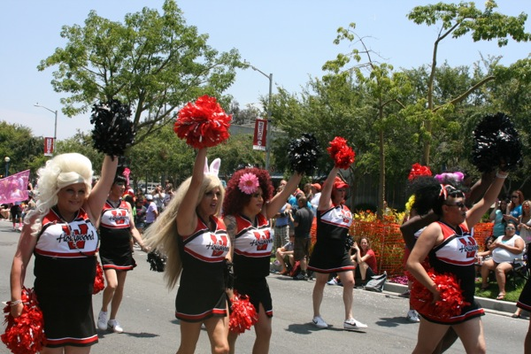 WEHO Cheer LA Pride Parade 2013