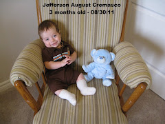 Jefferson 3 Months Old