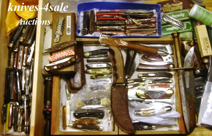 Another collection of knives to auction off!