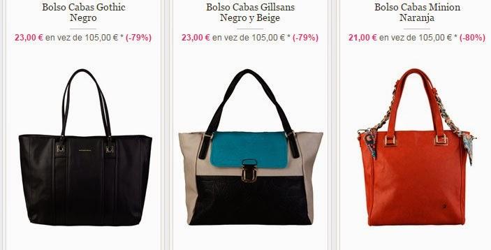 Tres ejemplos de bolsos cabás que tienes al mejor precio dentro