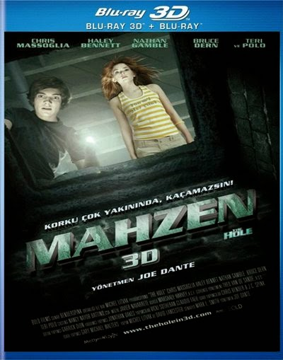 The Hole - Mahzen - 3d bluray poster
