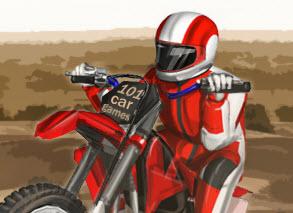 Çölde Motor Yarışı Yeni
