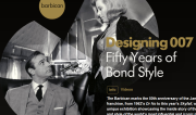 thumbnail of web image Designing 007: Fifty Years of Bond Style