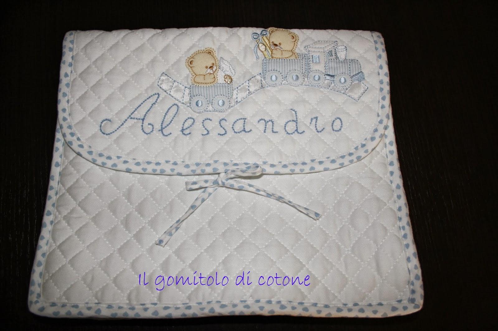 borsa primo cambio neonato
