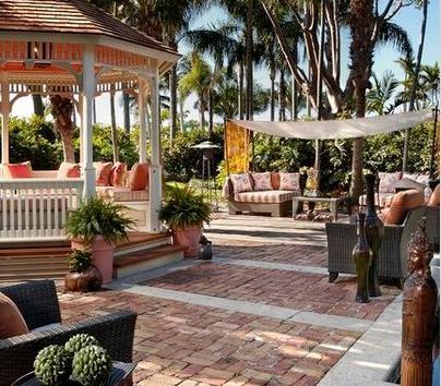 Fotos de terrazas terrazas y jardines terrazas de casas for Jardines pequenos con ladrillos